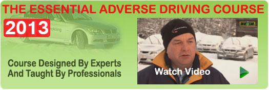 Adverse driving course